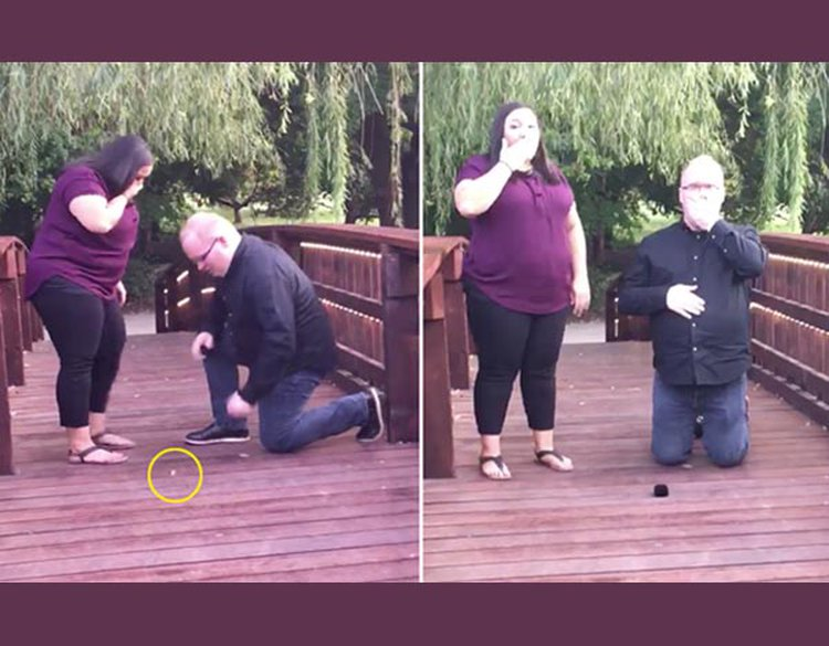 Bounce, Bounce, Plop: Anxious Suitor Fumbles Engagement Ring on Picturesque Footbridge in KC
