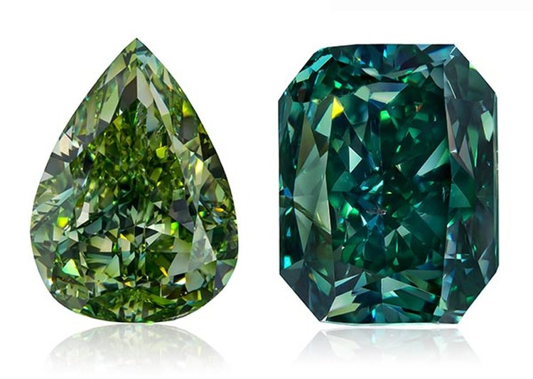 Elite Collection of Green Diamonds Makes Its Debut at the Natural History Museum of Los Angeles