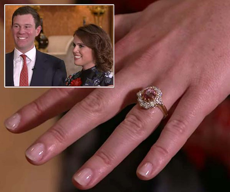 Princess Eugenie's Engagement Announcement Sparks the Question, 'What's a Padparadscha?'