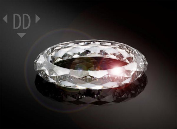 96a46deef1d Dutch Tech Company Creates 133-Facet All-Diamond Ring to Mark Its 10th  Anniversary