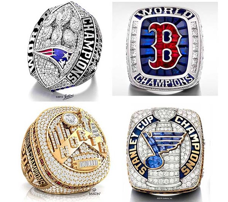 Let's Revisit the Wonderful, Over-the-Top Championship Rings of 2019